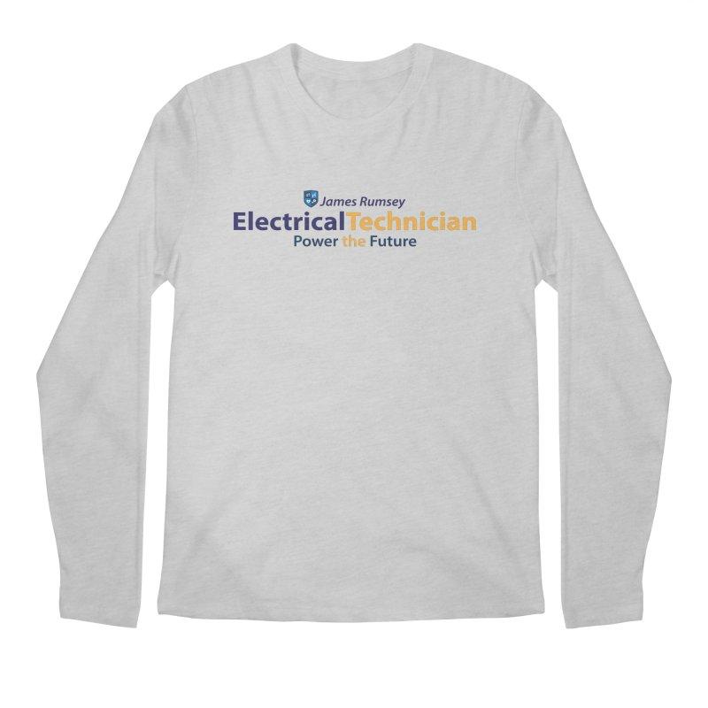 Electrical Technician Men's Regular Longsleeve T-Shirt by James Rumsey Technical Institute