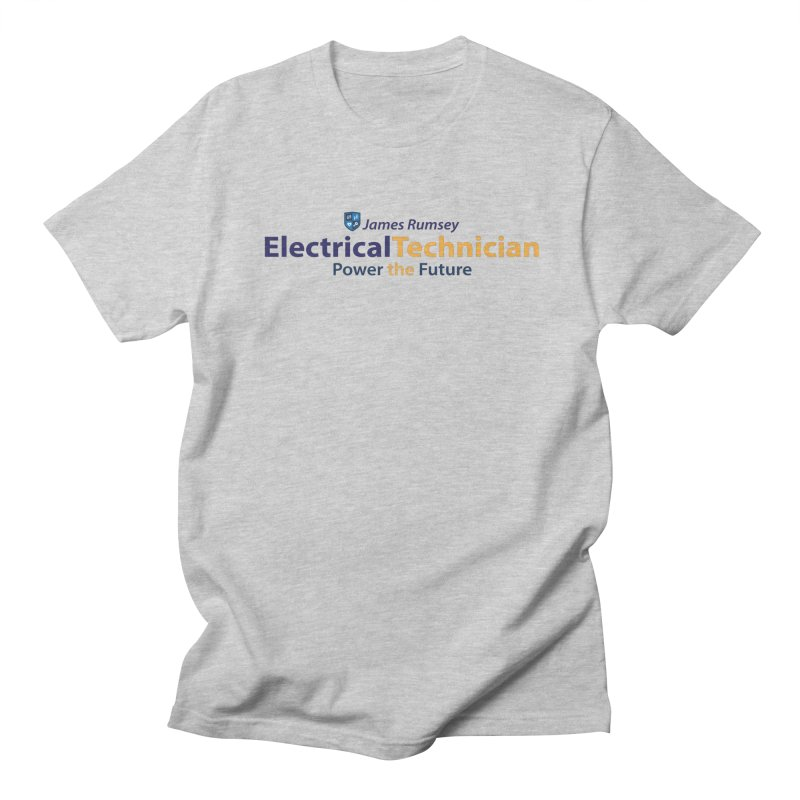 Electrical Technician Men's Regular T-Shirt by James Rumsey Technical Institute