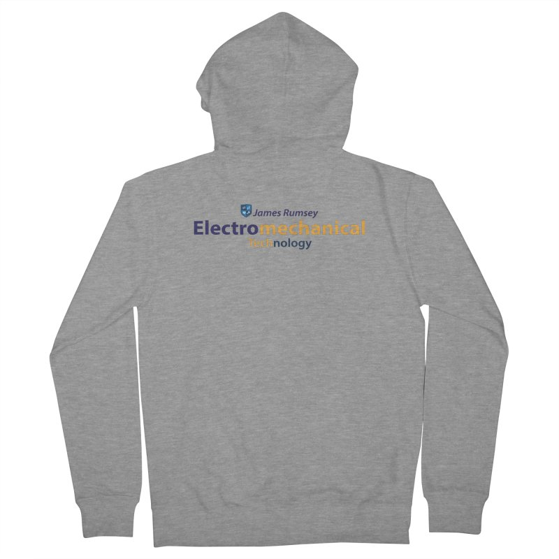 Electromechanical Technology Men's French Terry Zip-Up Hoody by James Rumsey Technical Institute