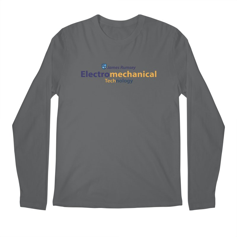 Electromechanical Technology Men's Regular Longsleeve T-Shirt by James Rumsey Technical Institute