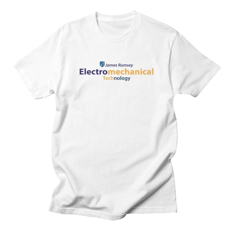 Electromechanical Technology Men's Regular T-Shirt by James Rumsey Technical Institute