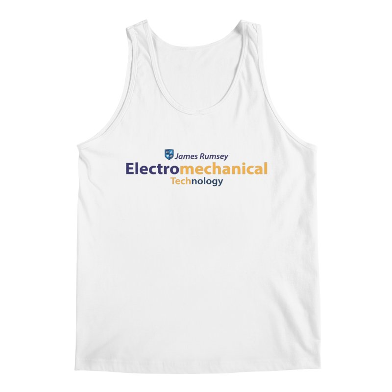 Electromechanical Technology Men's Tank by James Rumsey Technical Institute