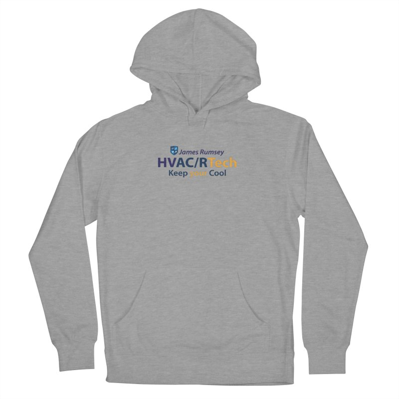 HVAC/R Men's French Terry Pullover Hoody by James Rumsey Technical Institute