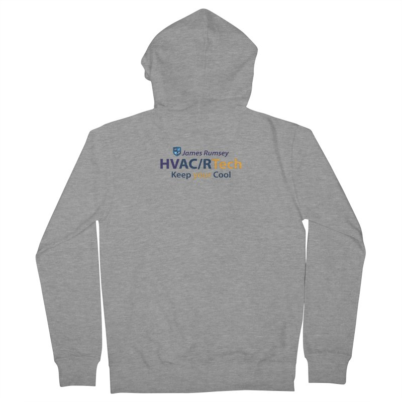 HVAC/R Men's French Terry Zip-Up Hoody by James Rumsey Technical Institute