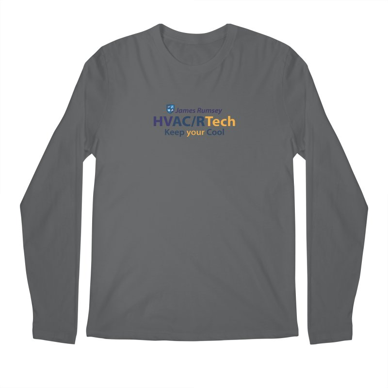 HVAC/R Men's Regular Longsleeve T-Shirt by James Rumsey Technical Institute