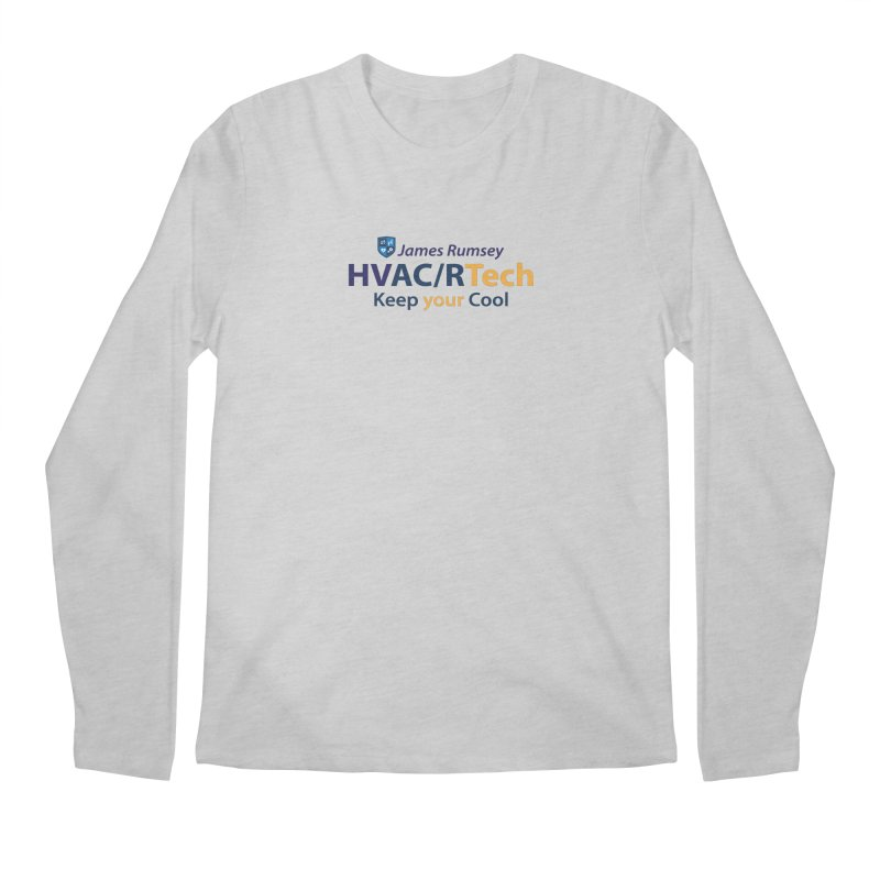 HVAC/R Men's Regular Longsleeve T-Shirt by James Rumsey Technical Institute