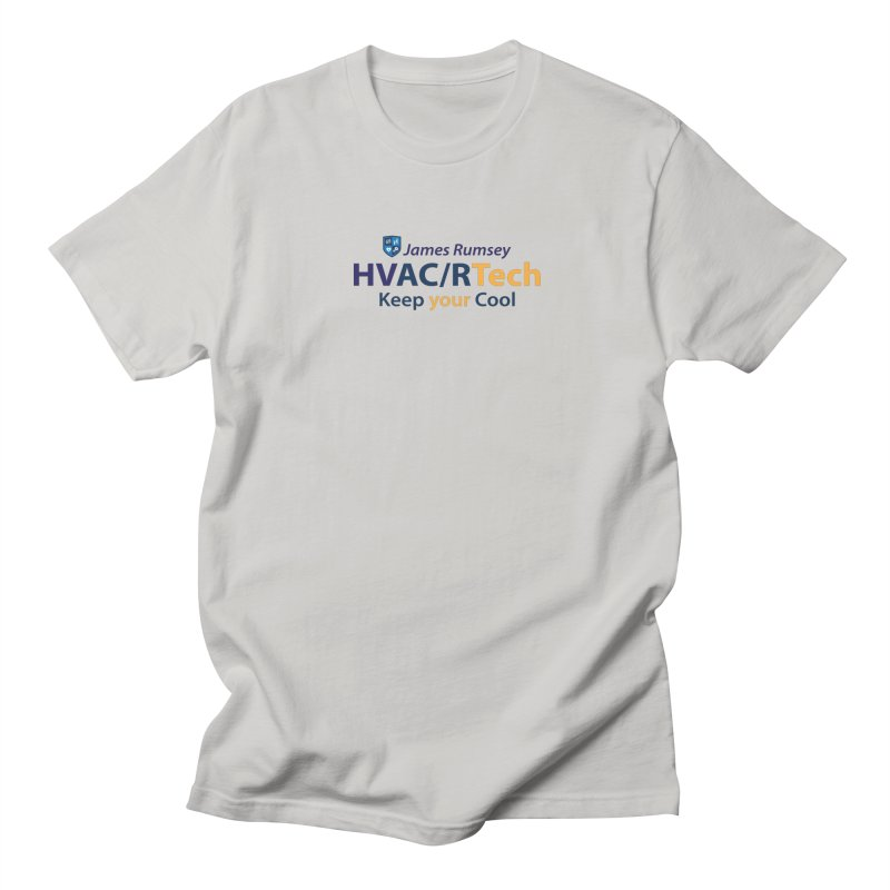 HVAC/R Men's Regular T-Shirt by James Rumsey Technical Institute