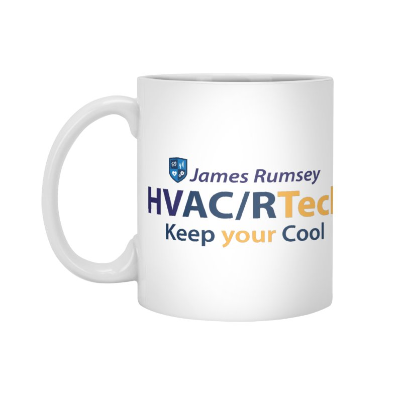 HVAC/R Accessories Standard Mug by James Rumsey Technical Institute