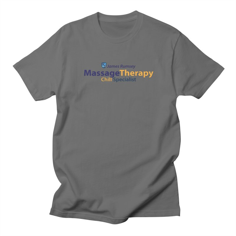 Massage Therapy Men's T-Shirt by James Rumsey Technical Institute