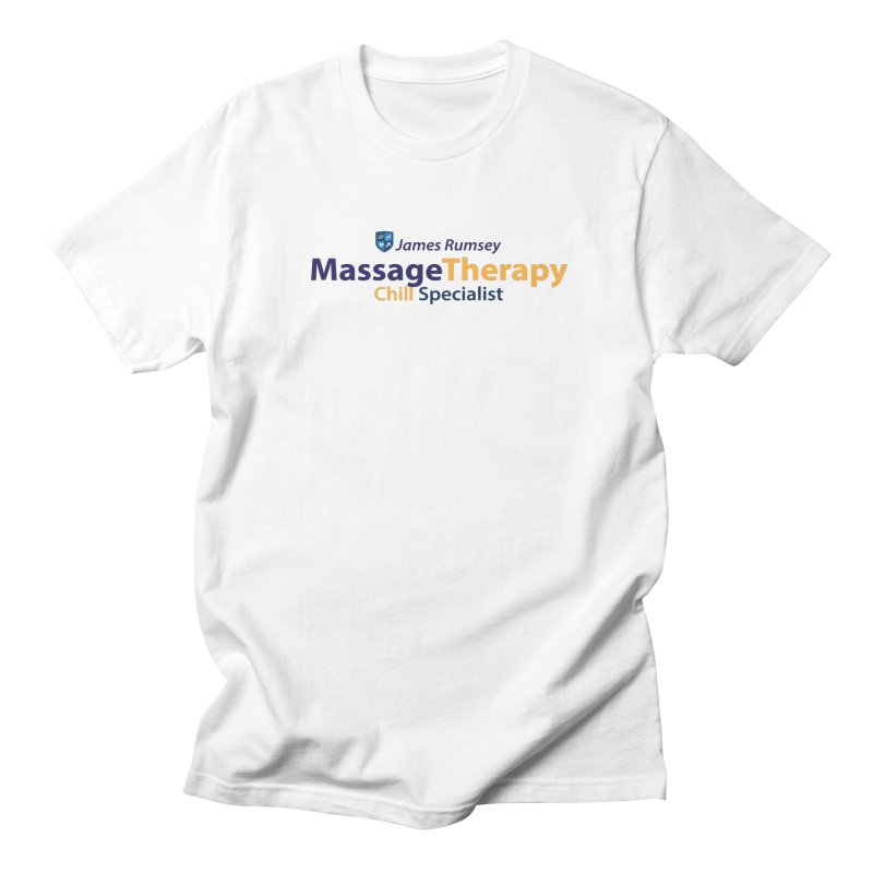 Massage Therapy Men's Regular T-Shirt by James Rumsey Technical Institute