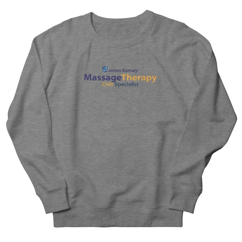 Massage Therapy Men's French Terry Sweatshirt by James Rumsey Technical Institute