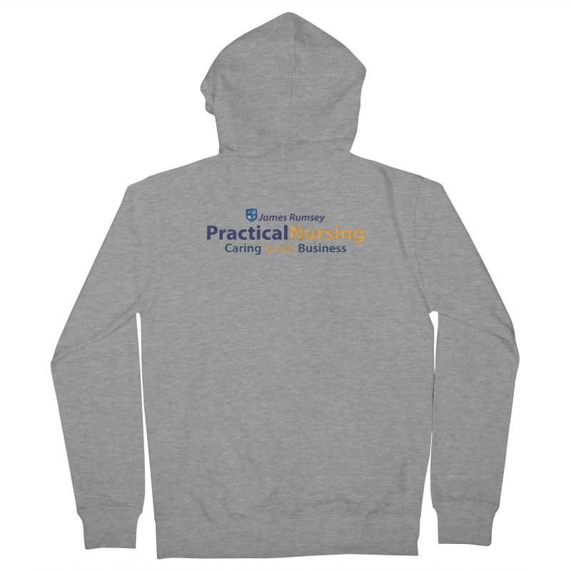Practical Nursing Men's French Terry Zip-Up Hoody by James Rumsey Technical Institute