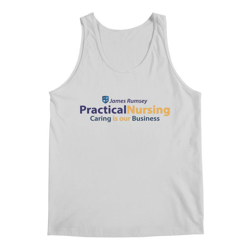 Practical Nursing Men's Regular Tank by James Rumsey Technical Institute