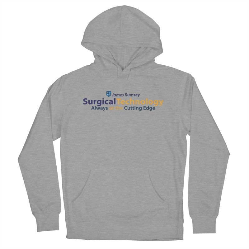 Surgical Technology Men's French Terry Pullover Hoody by James Rumsey Technical Institute