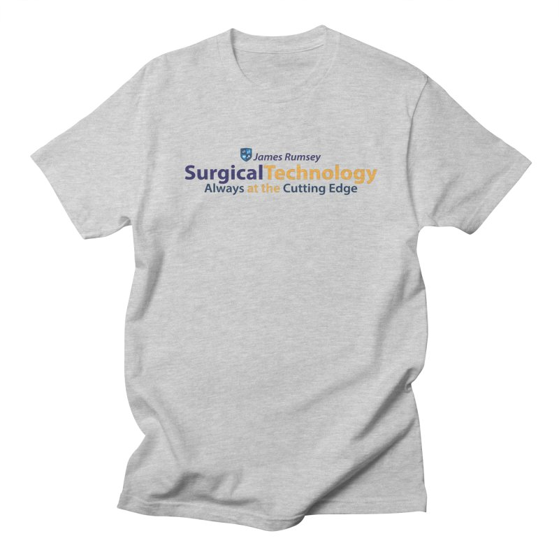 Surgical Technology Men's Regular T-Shirt by James Rumsey Technical Institute