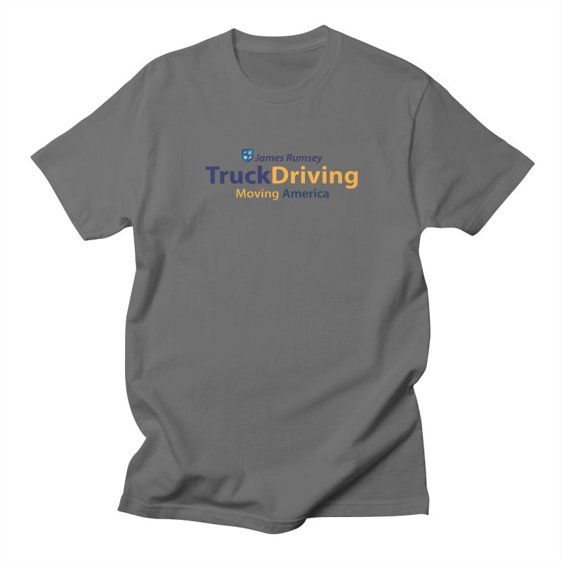 Truck Driving Men's T-Shirt by James Rumsey Technical Institute