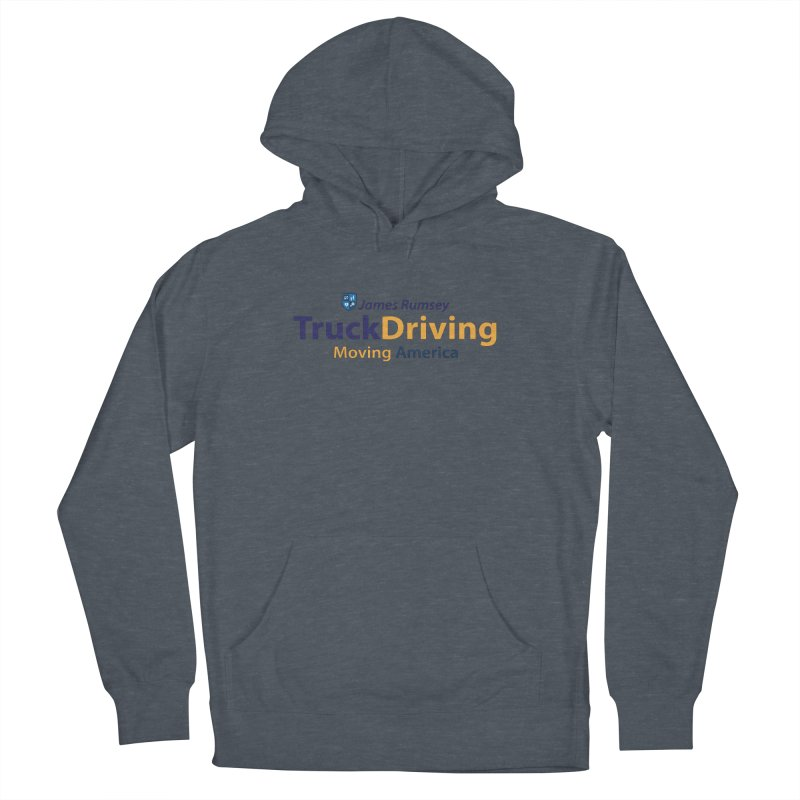 Truck Driving Men's French Terry Pullover Hoody by James Rumsey Technical Institute