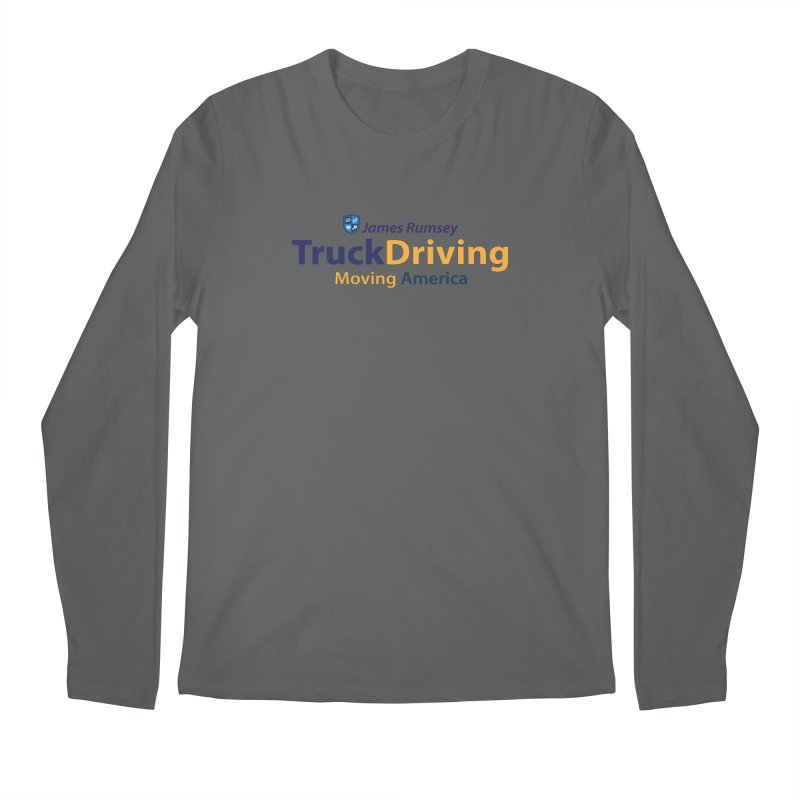 Truck Driving Men's Regular Longsleeve T-Shirt by James Rumsey Technical Institute