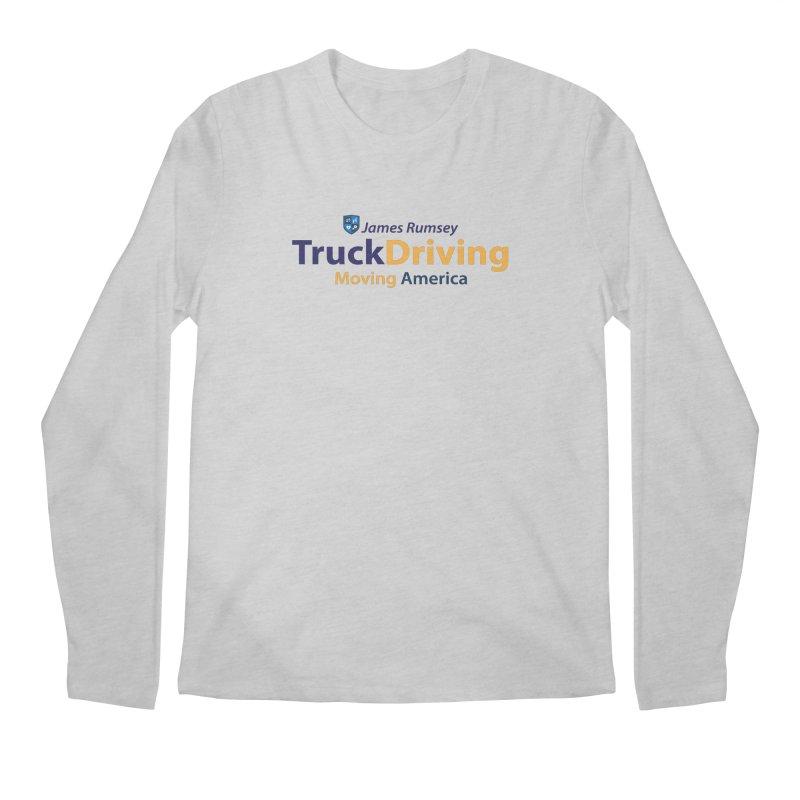 Truck Driving Men's Regular Longsleeve T-Shirt by James Rumsey Technical Institute