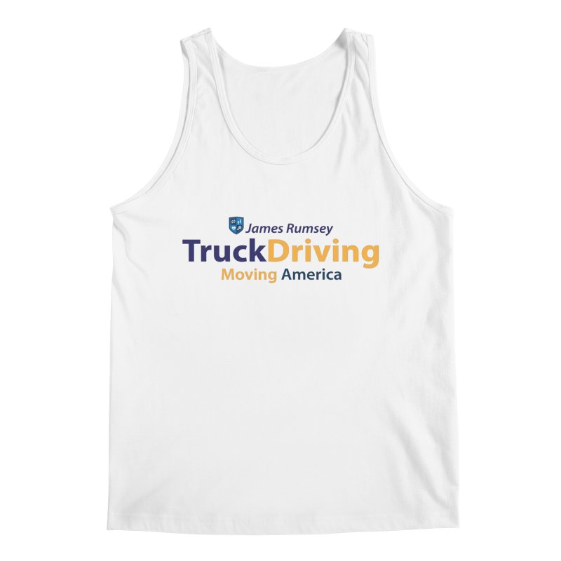 Truck Driving Men's Tank by James Rumsey Technical Institute
