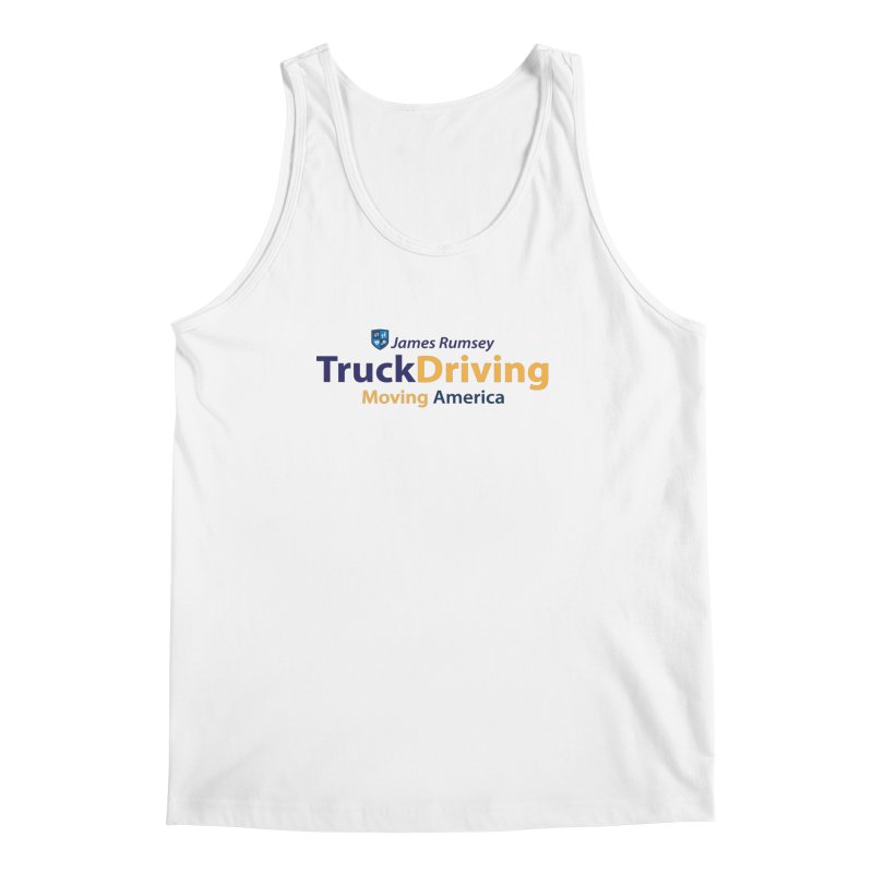 Truck Driving Men's Regular Tank by James Rumsey Technical Institute