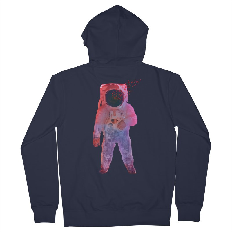 INNER SPACE Women's Zip-Up Hoody by jrtoyman's Artist Shop