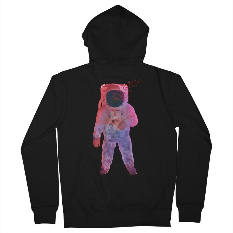 INNER SPACE Men's Zip-Up Hoody by jrtoyman's Artist Shop