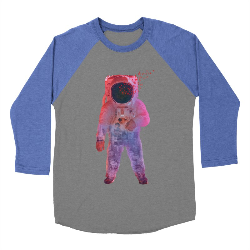 INNER SPACE Men's Baseball Triblend T-Shirt by jrtoyman's Artist Shop