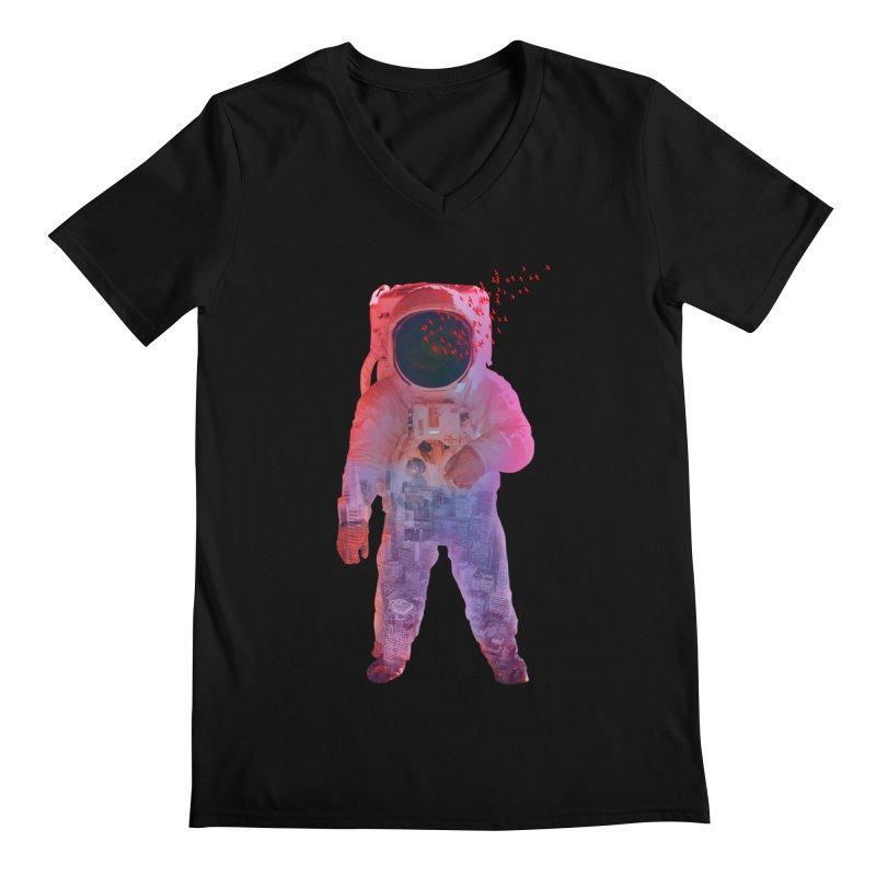 INNER SPACE Men's V-Neck by jrtoyman's Artist Shop