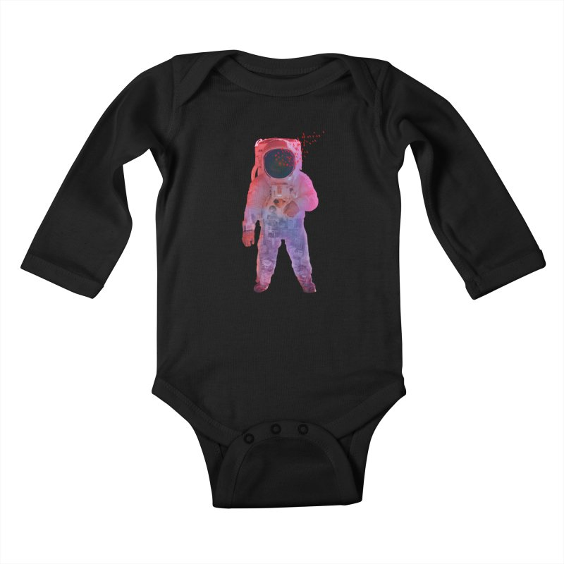 INNER SPACE Kids Baby Longsleeve Bodysuit by jrtoyman's Artist Shop