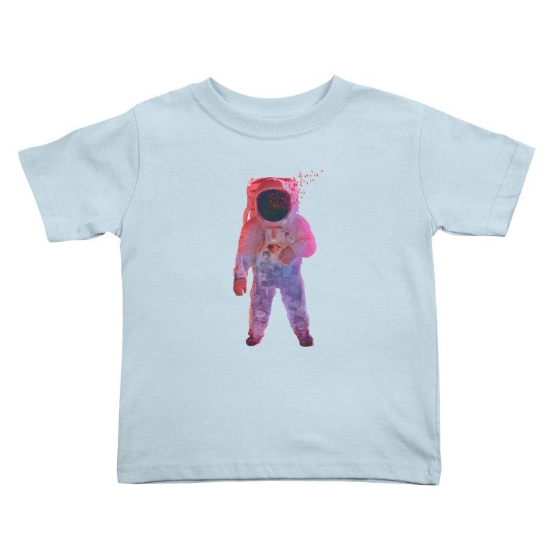 INNER SPACE Kids Toddler T-Shirt by jrtoyman's Artist Shop
