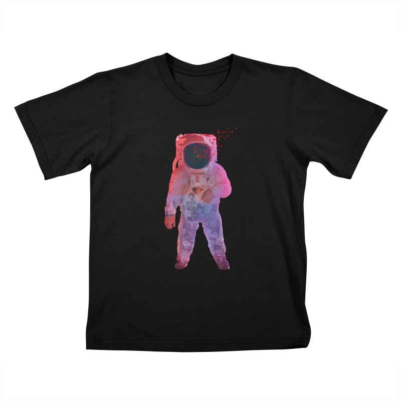 INNER SPACE Kids T-Shirt by jrtoyman's Artist Shop