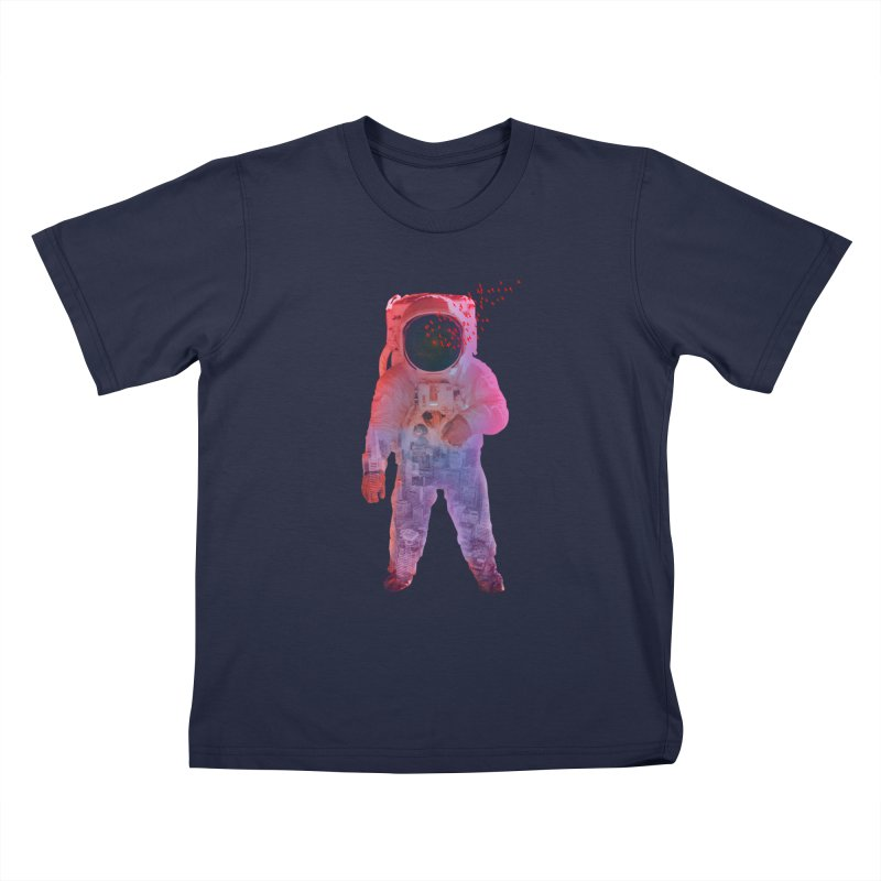 INNER SPACE Kids Toddler T-Shirt by jrtoyman's Artist Shop