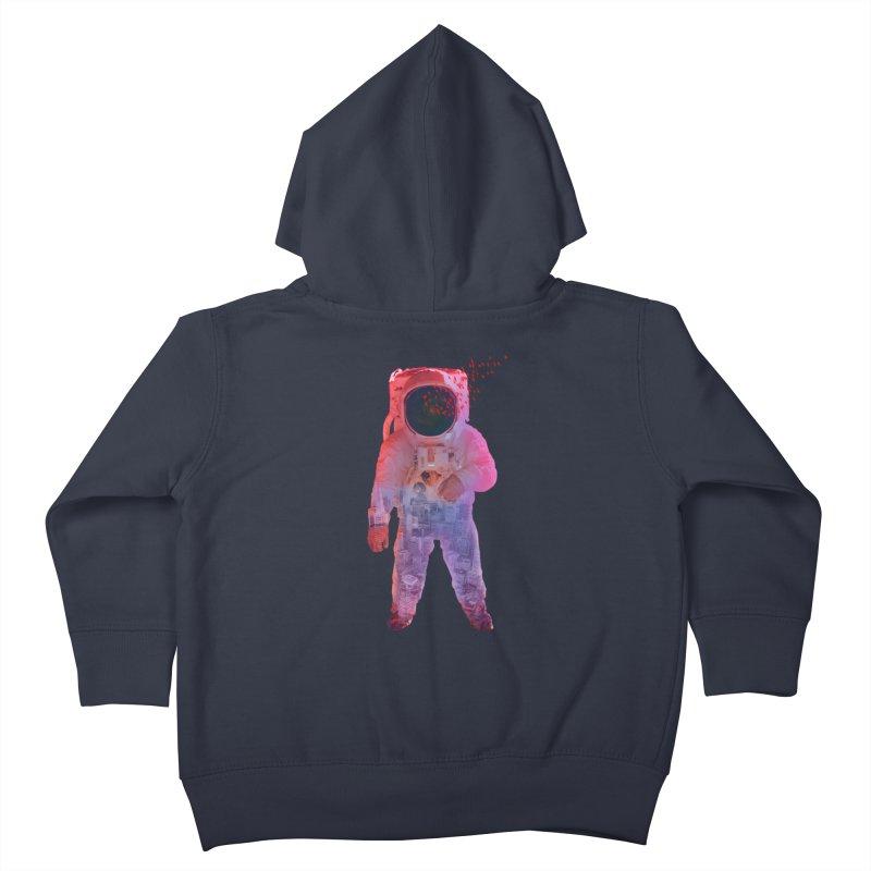 INNER SPACE Kids Toddler Zip-Up Hoody by jrtoyman's Artist Shop