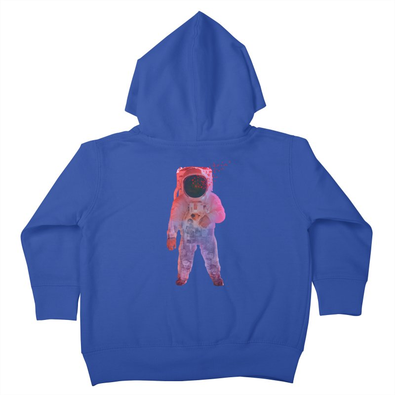 INNER SPACE Kids Toddler Zip-Up Hoody by jrtoyman's Artist Shop