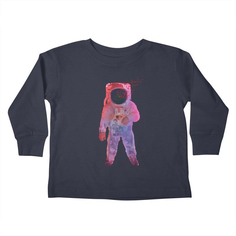 INNER SPACE Kids Toddler Longsleeve T-Shirt by jrtoyman's Artist Shop