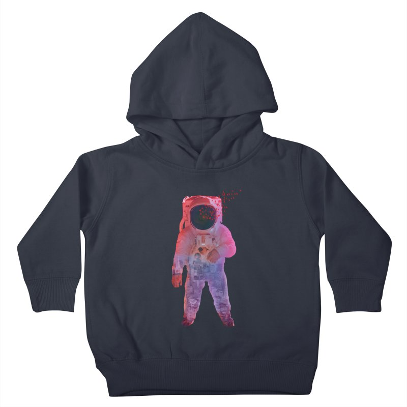 INNER SPACE Kids Toddler Pullover Hoody by jrtoyman's Artist Shop