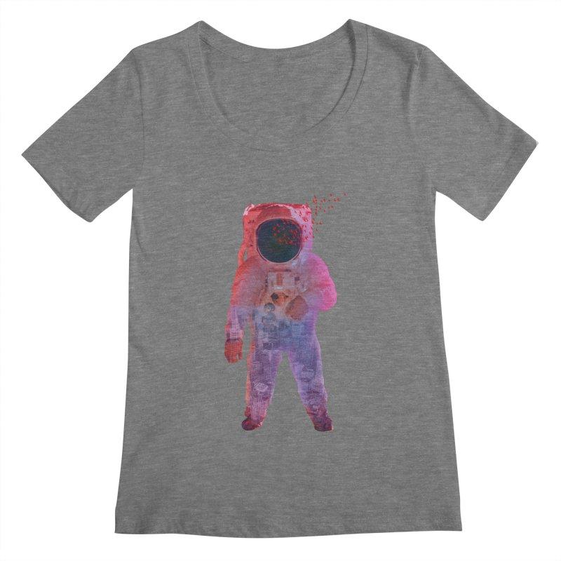 INNER SPACE Women's Scoopneck by jrtoyman's Artist Shop