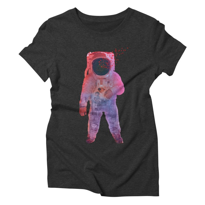 INNER SPACE Women's Triblend T-shirt by jrtoyman's Artist Shop