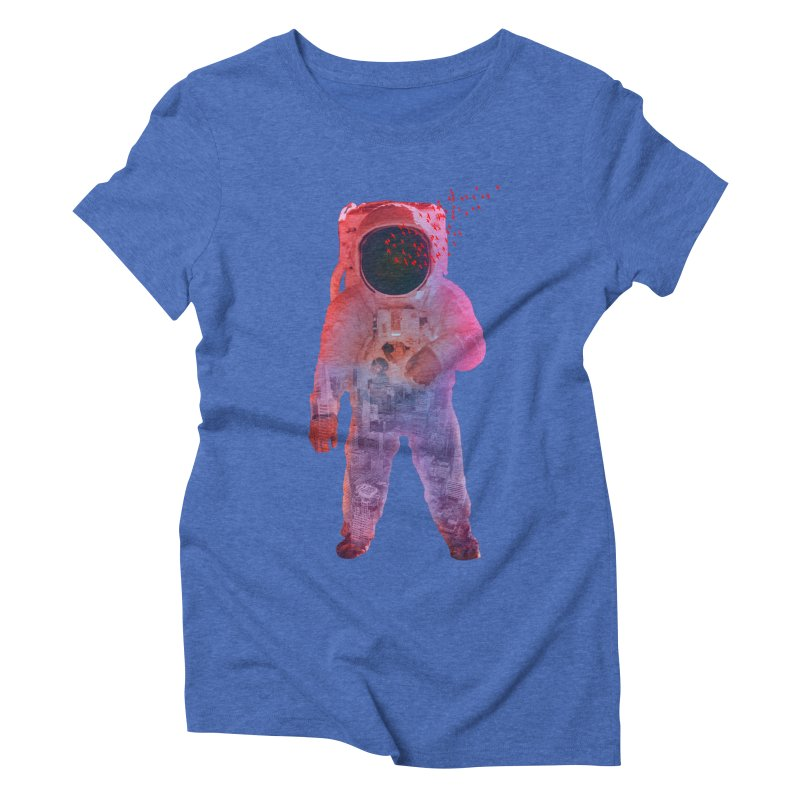 INNER SPACE Women's Triblend T-Shirt by jrtoyman's Artist Shop