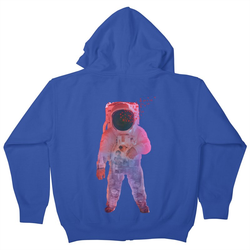 INNER SPACE Kids Zip-Up Hoody by jrtoyman's Artist Shop