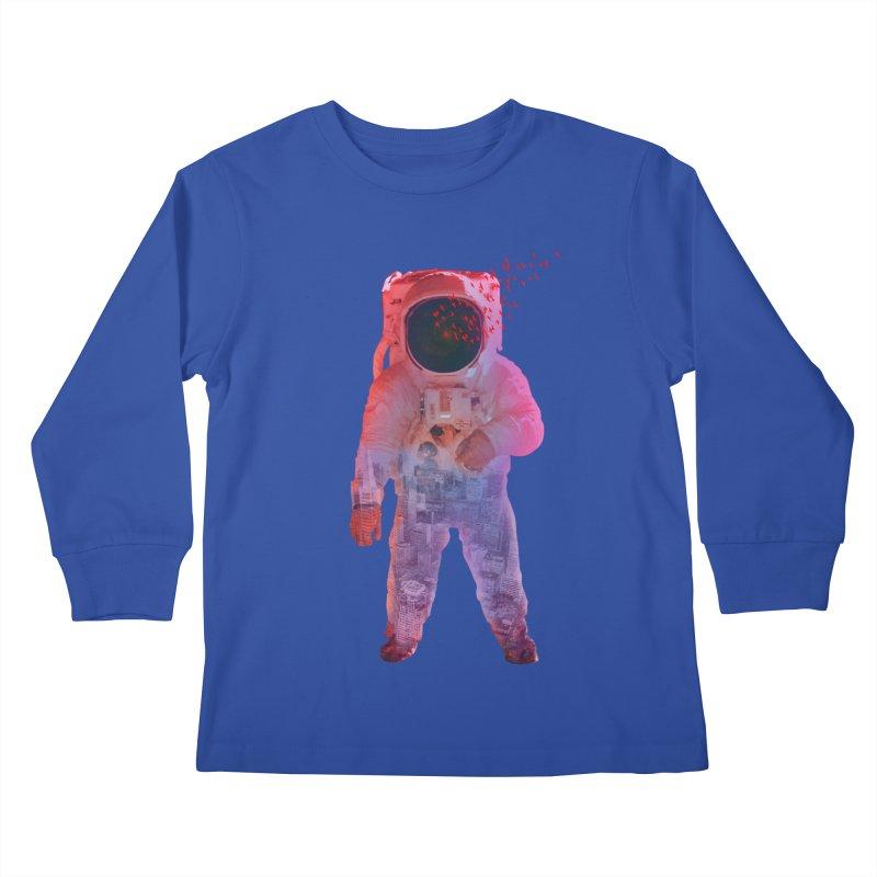 INNER SPACE Kids Longsleeve T-Shirt by jrtoyman's Artist Shop