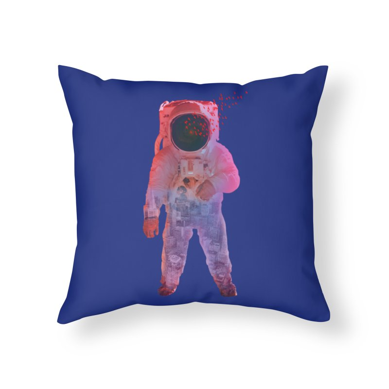 INNER SPACE Home Throw Pillow by jrtoyman's Artist Shop