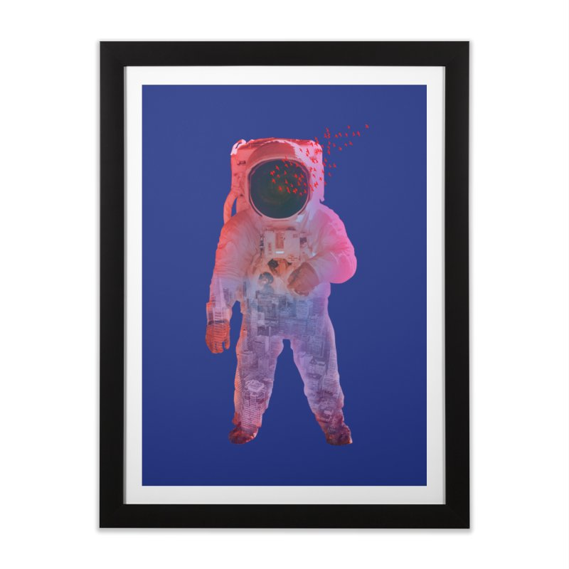 INNER SPACE Home Framed Fine Art Print by jrtoyman's Artist Shop