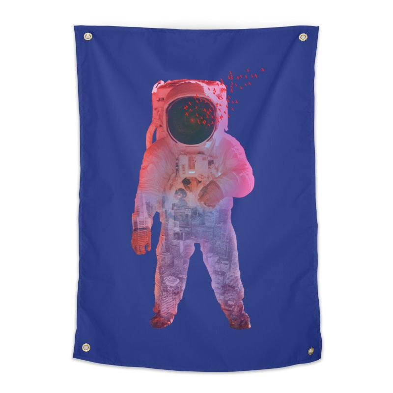 INNER SPACE Home Tapestry by jrtoyman's Artist Shop