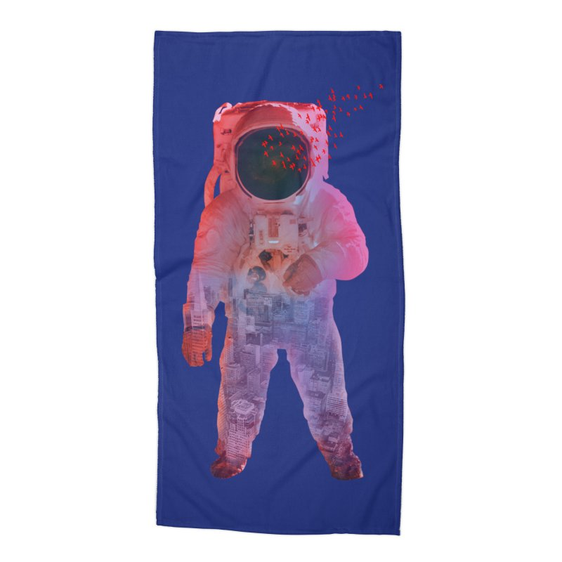 INNER SPACE Accessories Beach Towel by jrtoyman's Artist Shop