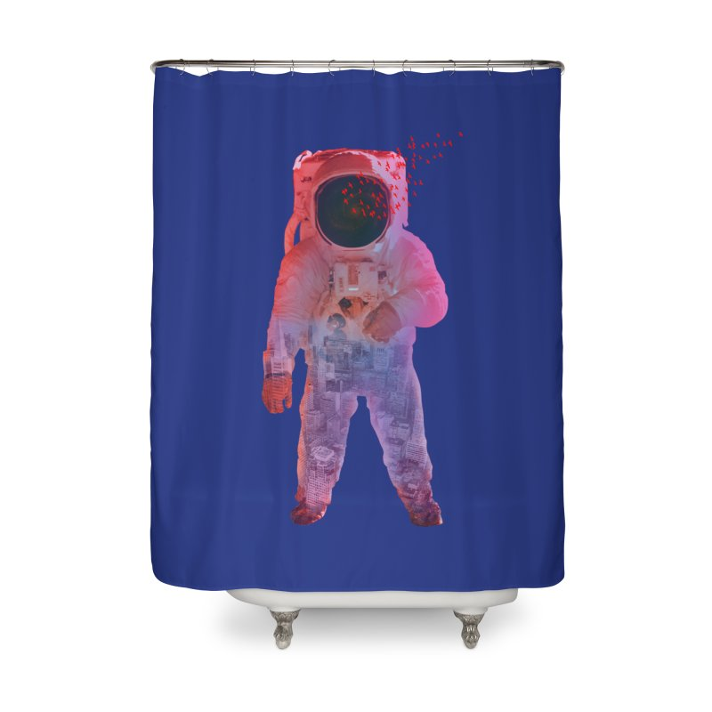 INNER SPACE Home Shower Curtain by jrtoyman's Artist Shop