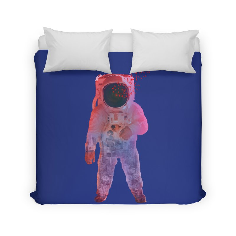 INNER SPACE Home Duvet by jrtoyman's Artist Shop