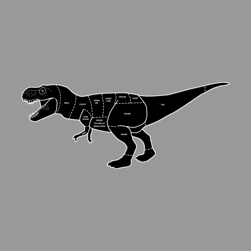 JURASSIC MEAT CUTS None  by jrtoyman's Artist Shop