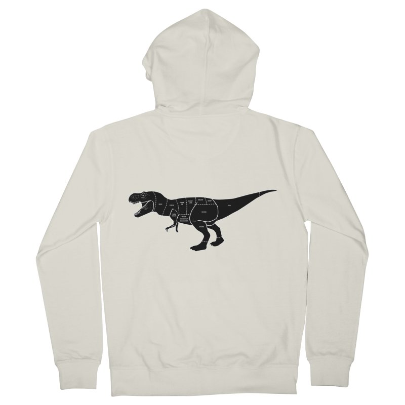 JURASSIC MEAT CUTS Women's Zip-Up Hoody by jrtoyman's Artist Shop